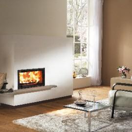 caminetto a legna interno casa Miu Xtra Austroflamm in vendita a Rimini
