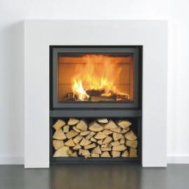 caminetto a legna interno casa Stuv 16-78 ch in vendita a Rimini