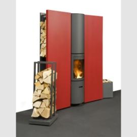 caminetto a legna interno casa Stuv 30 Compact IN in vendita a Rimini