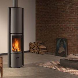 Stufa a legna interno casa Stuv 30 Compact Alto in vendita a Rimini